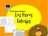 Los Pavos Salvajes: Comprension y Vocabulario
