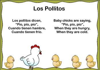 """""""Los Pollitos"""" a Hispanic Folk Song (first grade)"""
