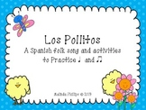 """Los Pollitos: A Spanish Song to Practice """"Ta"""" and """"Ti-Ti"""""""