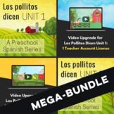 Los Pollitos Dicen Units 1-4 WITH Digital Package (Mega-Bundle)
