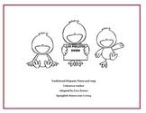 Los Pollitos Dicen booklet