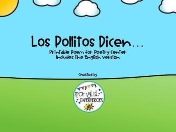 Los Pollitos dicen - Dual Language Poem