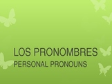 Los Pronombres Subjetos