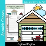 Los Quehaceres (Spanish Chores): Logical or Illogical?