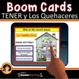 Los Quehaceres   Tener que + infinitive Boom Cards   Boom
