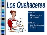 Los Quehaceres w/ Tener+Que+Infinitive