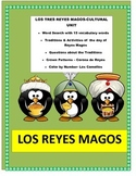 Los Reyes Magos - Three Kings Day- Traditions- Cultural Lesson Plan-ENGLISH