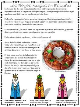 Los Reyes Magos en España Activity Pack