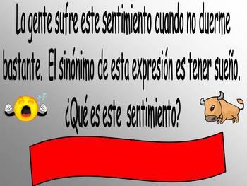 Los Sanfermines-Spanish Running of the Bulls Game/Culture & Vocab Fun
