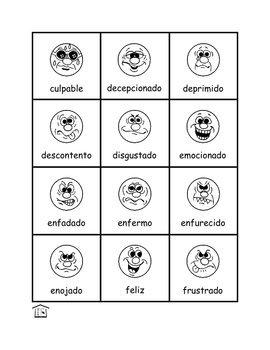Los Sentimientos - Feelings in Spanish