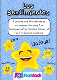 Los Sentimientos Spanish Song and Activities