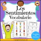 Los Sentimientos Vocabulario {Spanish Feelings Vocabulary}