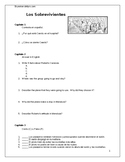 Los Sobrevivientes: Individual Reading Comprehension Assessment