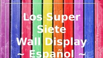 Los Super Siete posters