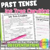 Preterite vs Imperfect Story Worksheet (Los Tres Cerditos/Three Little Pigs)