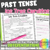 Preterite vs Imperfect Story Worksheet | Los Tres Cerditos | Three Little Pigs