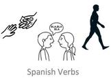 Los Verbos - Spanish Present Tense Verbs Week Unit