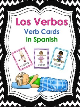 Los Verbos/Verb Cards In Spanish