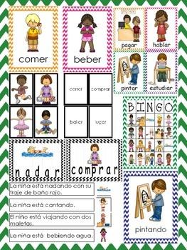 Los Verbos/Verbs Unit In Spanish