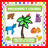 Abecedario y Colores -Spanish Language Center - Dual Language