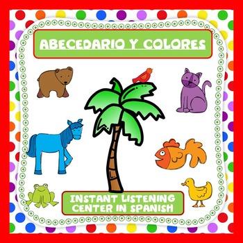 Abecedario y Colores -Spanish Language Center - Dual Language