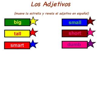 Los adjetivos en español