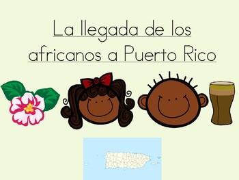 Los africanos en Puerto Rico