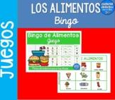 Los alimentos Bingo| Pack de Juegos | Spanish Resources
