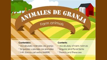 Los animales de la granja - Farm animals
