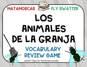 Los animales de la granja Flyswater game