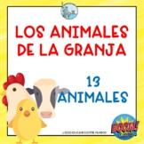 Los animales de la granja Tarjetas Digitales Boom Cards