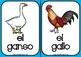 Los animales de la granja flashcards