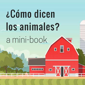 Los animales de la granja mini-book