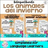 Los animales del invierno / Winter Animals Readers & BOOM™ versions {Bilingual}