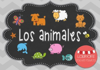 Los animales {en español}