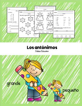 Los antónimos | antonyms in spanish