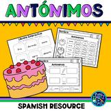 Los antónimos (Antonyms in Spanish)