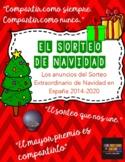 Los anuncios del Sorteo Extraordinario de Navidad 2014-18: