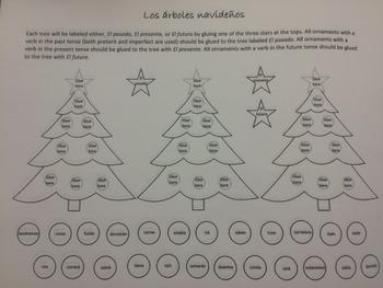Los árboles navideños Christmas Trees