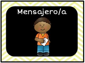 Los ayudantes del salon / Classroom Jobs in Spanish