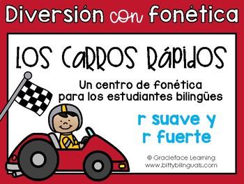 Los carros rápidos:A Spanish Phonics Center for Hard R/Sof