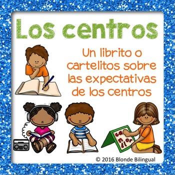Los centros ~ Centers mini book