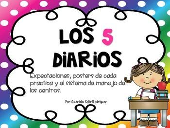 Los cinco diarios