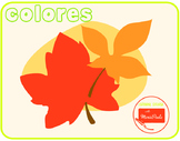 Montessori - Los colored -The colors (fall leafs)