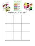 Los colores Bingo (Lotería de los colores)