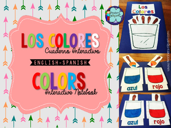 Los colores - Colors {INTERACTIVE NOTEBOOK} INK SAVER -File Folder Game