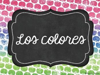 Los colores / Colors PowerPoint