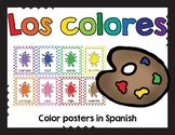 Los colores / Colors in Spanish