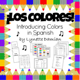 ¡Los colores!  Introducing Colors in Spanish!