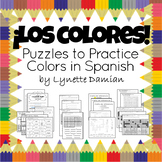 ¡Los colores! Puzzles to Practice Colors in Spanish